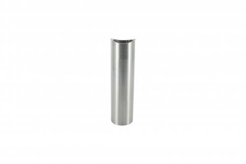 Distanzhülse ø 20 x 2mm, Länge 55mm, einseitig ausgefräst für Rohr ø 42,4mm Länge 55mm edelstahlonline24