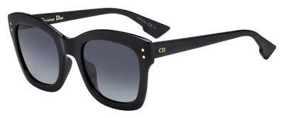 Christian Dior DIORIZON2 0807 Black Square Sunglasses for