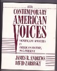 Contemporary American Voices : Significant Speeches in American History, 1945-Present, Andrews, James R. and Zarefsky, David, 0801302188