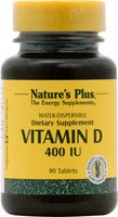 Nature's Plus VITAMIN D 400 IU WATER-DISPERSIBLE 90 [Health and Beauty] - 400 Iu Water