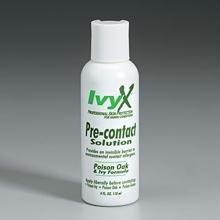 IvyX poison oak & ivy pre-contact solution- 4 oz. plastic bottle- 12 per case