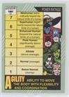 Power Ratings - Agility/Stamina  1991 Impel Marvel Universe Series 2 -  #160