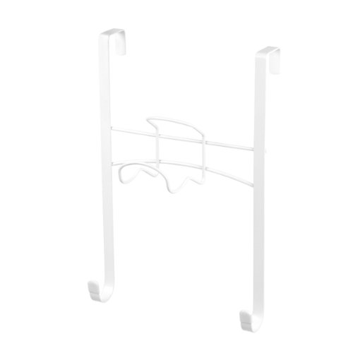 Spectrum Diversified Iron and Ironing Board Holder, Over the Door, White by Spectrum Diversified
