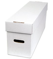 Comic Long Box (Long Comic Book Storage Box Supply)