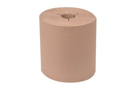Wausau Paper Tork 80 - 31300 EcoSoft Brown 800 Ft Roll Towel (Case of 6)