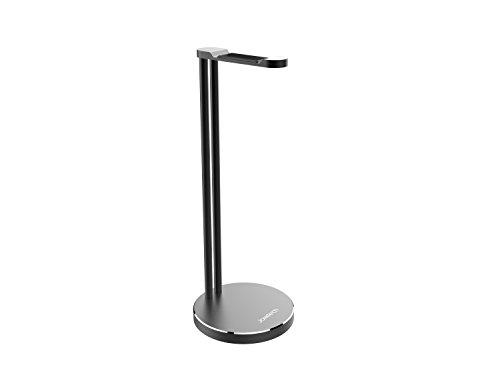 Price comparison product image Headphone Stand,  Jokitech Aluminum Slim Headphone Stand,  Suitable for Beats,  Sennheiser,  Sony,  Audio-Technica,  Bose,  Shure,  AKG,  Panasonic Headphones and More (Black)