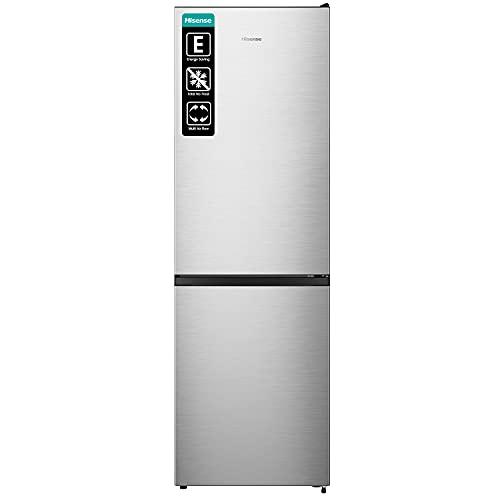 Hisense RB390N4AC2 - Frigorífico Combi No Frost, Capacidad Neta 300 L, 186 cm Alto, ECO mode, Silencioso 38 dBA, Color Blanco