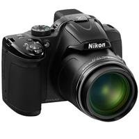 Nikon Coolpix P520 Digital Camera - Black - Refurbished by Nikon U.S.A.