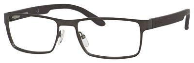Carrera 6656 Eyeglass Frames CA6656-09T6-5417 - Dark Ruthenium / Matte Black Frame, Lens Diameter