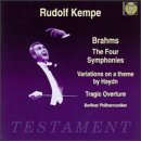 Brahms: The Four Symphonies / Variations on a Theme By Haydn / Tragic Overture