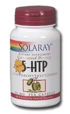 Solaray Capsules L-5 HTP, 50 mg,