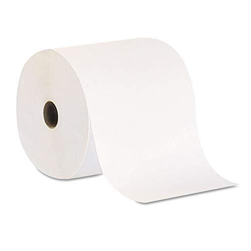 Georgia Pacific Professional 26601 Nonperforated Paper Towel Rolls, 7 7/8 X 800ft, White, 6 ()