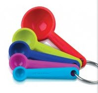 Zeal Measuring Spoon Set Steel Red Display Of 24 by Zeal Optics
