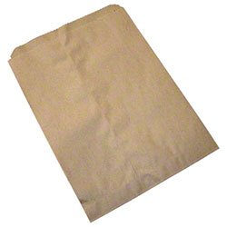 "Callico Distributors Duro Bag MFG Merchandise Bag Food Wrapping Catering Supplies Kraft - 7x10"" 1000 per Pack price tips cheap"