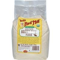 Bob's Red Mill Organic Rice Flour Brown, 48 oz by Bob's Red Mill
