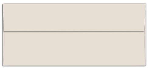- Cougar Opaque - Business Envelopes - Square Flap - NATURAL (28/70) - NO. 10 Envelopes - 500 PK by Domtar Cougar