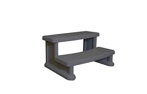 Cover Valet SSSWG Spa Side Step, Warm Grey ()
