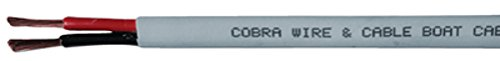 Cobra Copper Duplex Wire44; 100' 14/2 Awg B7G14B21100FT by Cobra (Image #1)