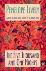 Front cover for the book The Five Thousand and One Nights by Penelope Lively