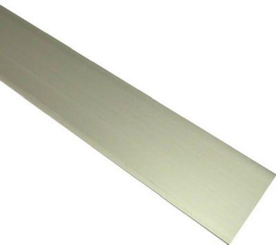 Boltmaster Aluminum Flat Bar 1/8'' X 1/2'' X 8' Mill Bulk