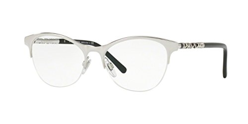 Burberry Women's BE1298 Eyeglasses Silver 53mm