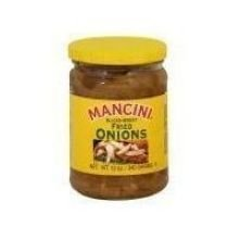 Mancini Sauteed Onions - 12 Oz. Cans - 12 Per case by Mancini Packing