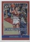 Steve Nash #/99 (Basketball Card) 2016-17 Panini Donruss Optic - All-Stars - Red #10 (Steve Card Nash)