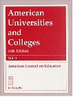 American Universities and Colleges, American Council on Education, A. C. E., 3110169673