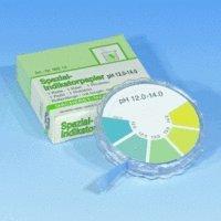 SEOH pH Analytical Test Paper 5 Meter Roll Dispenser 12.0-14.0