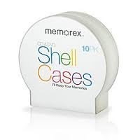 40pcs Memorex® CD Shell Jewel Cases, Pack Of 10 X 4 Pack