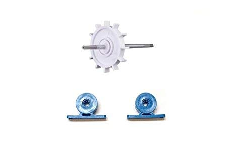 2 Pack Turbine Bearing + Drive Shaft For Polaris Cleaner 180 / 280 C80 C86 by Southeastern