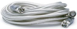 - Truckspec TSPS-8X18CSP 18' Cb Antenna Co-phase Mini-8 Coax Cable W/pl-259 Connectors Silver