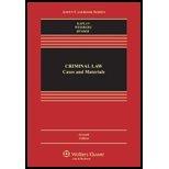 Criminal Law by John Kaplan, Robert Weisberg, Guyora Binder. (Aspen Publishers,2012) [Hardcover] 7th Edition