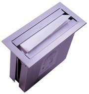 Bobrick B-526 Paper Towel Dispenser, 12 3/4 x 6'' TrimLine Series Countertop Mount - Satin Finish Stainless Steel