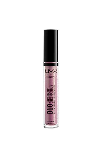 NYX PROFESSIONAL MAKEUP Duo Chromatic Lip Gloss, Booming, 0.084 Ounce