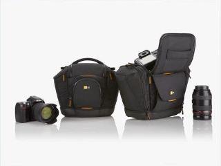 bc6104abf1 Case Logic SLRC-202 Medium SLR Camera Bag (Black) - Buy Online in ...
