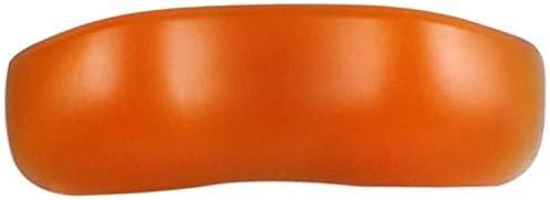 バスタブパッドSPAヘッドレストバスタブ枕ノンスリップスパヘッドクッションヘッド&ネック休息サポート、ブラック (Color : Orange)