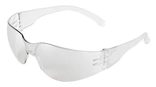 Bullhead Safety Eyewear BH111 Torrent, Crystal Clear Temple, Clear Lens (1 Pair) by Bullhead Safety Eyewear