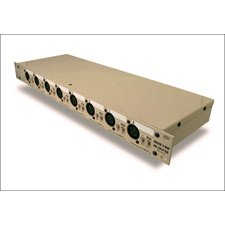 Radial OX8-r Mic Splitter - Passive w/ 8-input to 8-direct out & 8-isolated out - Radial Transformers (Radial Mic Splitter)