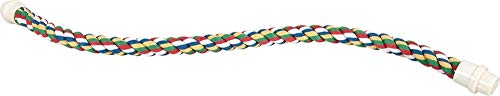 (JW Pet Comfy Perch For Birds Flexible Multi-color Rope)