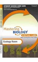 MasteringBiology without Pearson eText for -- Virtual Lab Ecology Room -- Standalone Access Card