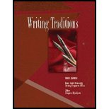 Writing Traditions, Texas A&M-Writing Programs Office, 0757521495