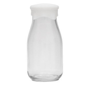 Milk Bottle Clear Silicone Lid