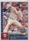 Philadelphia Phillies Trading Card Set - Cole Hamels (Baseball Card) 2008 Upper Deck Philadelphia Phillies World Series Champions - Box Set [Base] #PP-9