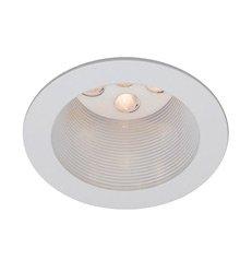 WAC Lighting HR-LED421-BK/WT 4-Inch LED Downlight Trim Round