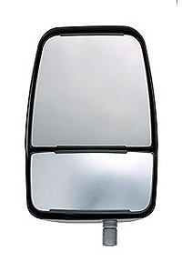 Velvac 714608 Deluxe Right Side Mirror Head Assembly, Chrome, HR/HM