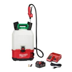 Milwaukee Backpack Pesticide Sprayer Kit 18V Lithium-Ion Cordless Switch Tank