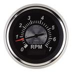 Sierra International 67364P Sterling Tachometer/Hourmeter (Lcd) for O/B & 4-Cycle Gas Engines, 3'', Black