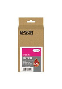 788XXL DURABrite Ultra Extra High Capacity Magenta Ink Cartridge, 4000 Yield () - Epson T788XXL320