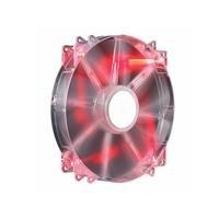 Cooler Master MegaFlow 200 - Sleeve Bearing 200mm Red LED Silent Fan for Computer Cases